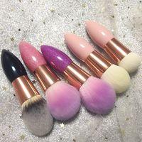 Multifunction Portable High Quality Bling Makeup Brush Foundation Brush Powder Brush Blush Brush OEM