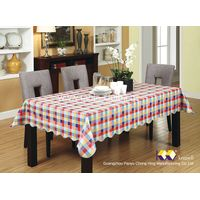 Chong Hing pvc plaid tablecloths Cheap