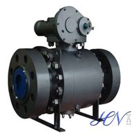 High Pressure Metal Seated Forged Steel Trunnion Mounted Ball Valve thumbnail image