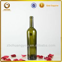 cheap 750ml unique shaped wine glass bottles wholesale