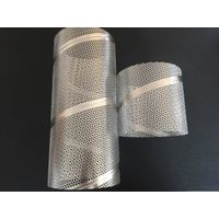 Zhi Yi Da spiral welded 316L perforated filter elements metal 316 pipes stainless steel air center c