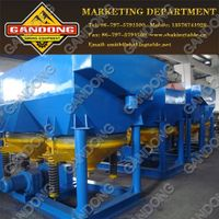 Jig machine/High quality jig machine for various mineral separation, energy saving gold mineral jig