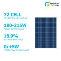 High Performance Solar Cell 215W Poly Solar Panel