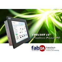 "FP8150T 15"" Fanless Industrial Panel PC"