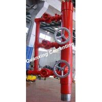"""7"""" double plug casing cementing head"""