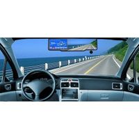 "4.3"" GPS System Rearview Mirror Monitor with Bluetooth"