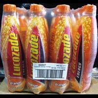 Lucozade, Lucozade Soft Drinks, Lucozade Energy Drinks, Lucozade Sport Orange (4x500ml) thumbnail image