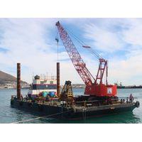 Crawler crane barge Malaysia