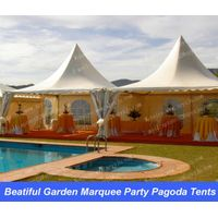 Beatiful Garden Marquee Party Pagoda Tent 7x7m With Lining,Curtain and Carpet