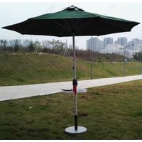 Solar Parasol with Mobile Phone Charger
