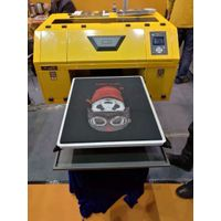 Best selling digital textile printer/clothes printing machine/flatbed 3d t-shirt printing machine