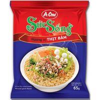 instant noodles minced pork flavor