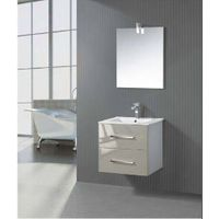 hot sale!Hangzhou Factory directly popular ceramic single sink white bathroom vanity