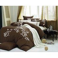 100% cotton embroidery bedding set-MJ014