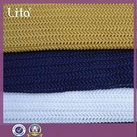 warp-knited woven Guilloche special design strech mesh fabric china supplier