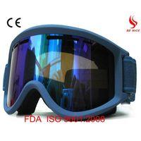 High quality cheap ski goggles with anti-fog UV protection lens thumbnail image