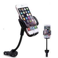Smartphone holder with Dual USB charger thumbnail image