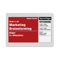 SyncSign 7.5 inch e ink electronic paper display for meeting room office supermarket school hospital