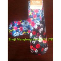 Lady photo print socks