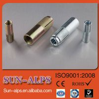 China supplier,anchor manufacturing,cheap price high quality knurling Concrete drop in anchor