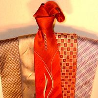 Colored Woven Jacquard  Neckties
