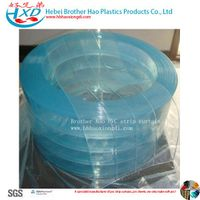 Food Grade Low Temperature Polar Vinyl Plastic PVC Strip Curtain Rolls thumbnail image