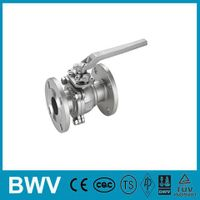 150LB 2PC Flanged Ball Valve with ISO5211 Mounting Pad