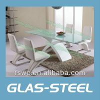 Glas-Steel Extension Dining Table BT293