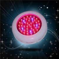 25X3W UFO full spectrum LED grow light with remote-controlled harvester