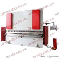 CNC Hydraulic press brake machine for sheet metal bending WC67K-300T6000