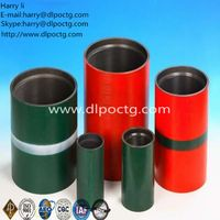 """Low Wear Tubing Pipe Coupling 3-1/2"""" EUE Internal Tubing Thread ASTM A519 1026"""