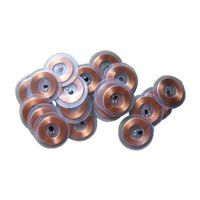 17.8mm ultralight clear disc tag