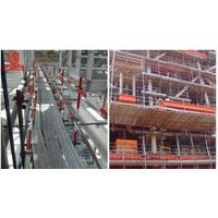 High quality walk through steel plank ,scaffolding metal planks
