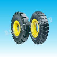 spongy solid tire 7.50-20 for military cannon truck thumbnail image