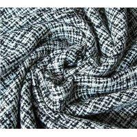 Wool/acrylic fabric