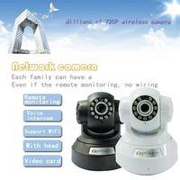 Kaynikon Wholesale Wireless Motion Detection Pan Tilt P2P HD K888 TF IP Camera
