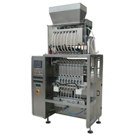 Multi position pipe bag vertical packaging machine
