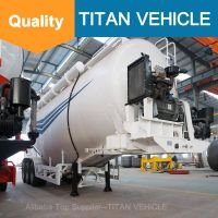 Titan Vehicle Cement Bulk Trailers V Type Bulk Cement Semi Trailer