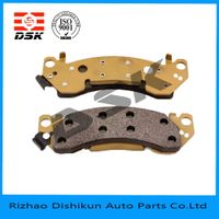 high quality and low noise auto part brake pad 7280A-D153