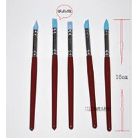 Firm colour shapers clay sculpting tools set shapers painting silicone brush artist oil paint brush