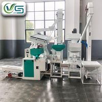 Automatic 15T/D Rice Mill Plant for Sale