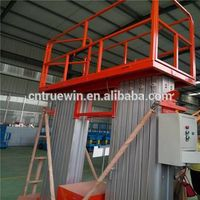 6m man lift aluminum  lift platform