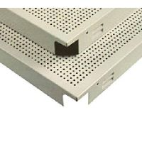 clip in aluminum ceiling tile, 600x600mm metal ceilings thumbnail image