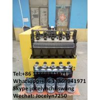Factory supply steel scourer making machine 8 wires 4 balls