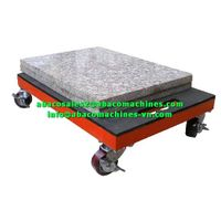 MARBLE GRANITE STONE MULTI - PURPOSE DOLLY TROLLEY - ABACO - thumbnail image