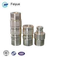 3 stainless steel pneumatic quick flexible pipe coupling hose coupler