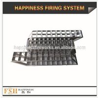 "2""60 shots Iron molding shelf for fireworks"