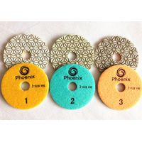 Diamond Resin Polishing Pads for stone and concrete