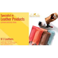 Leather lifestyle products