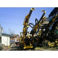 Atlas copco 2boomer drill machine